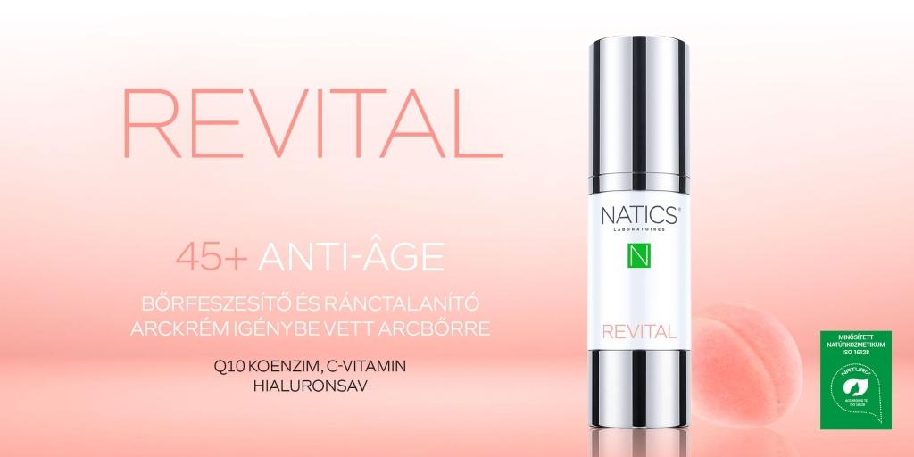 NATICS® - REVITAL regeneráló arckrém