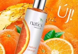 Natural Orange - Még intenzívebb illattal!