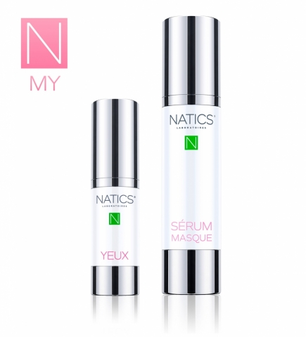 MY NATICS<br> YEUX et SÉRUM MASQUE